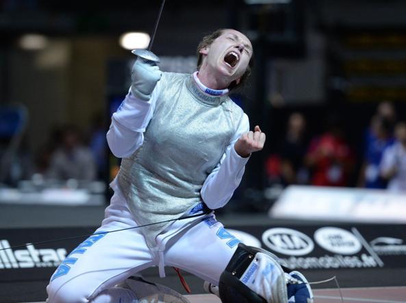 Valentina Vezzali dice addio con un argento a Rio