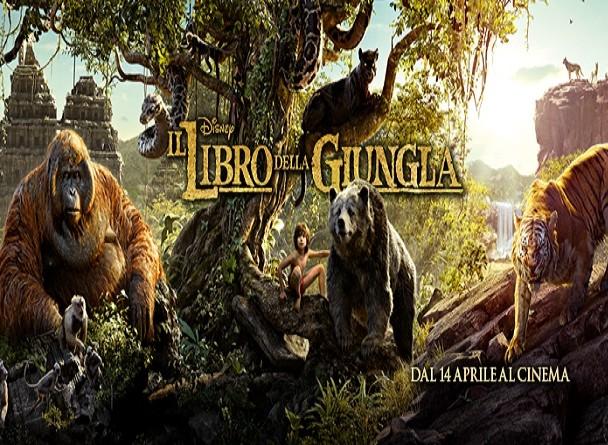 Disney Il libro della giungla, Il 14 Aprile Mowgli ritorna al cinema in 3D