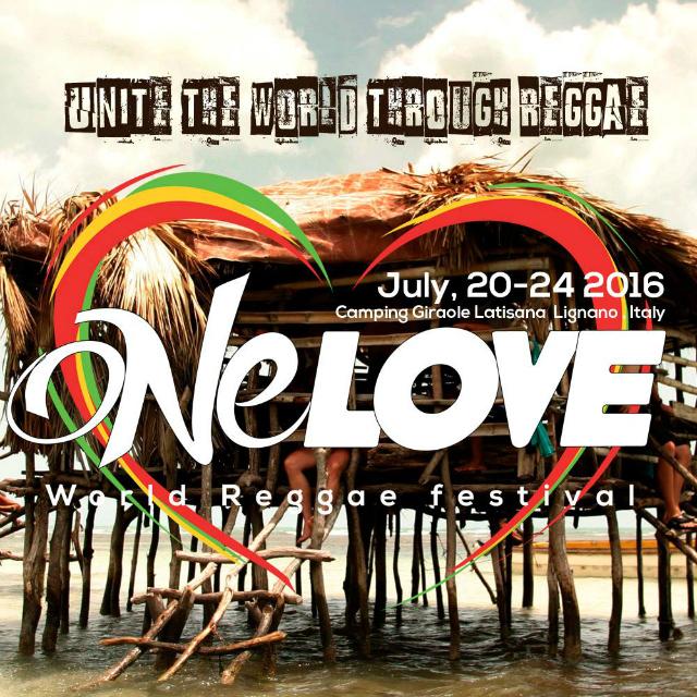 One Love World Reggae Festival ad Aprilia Marittima anche quest'anno