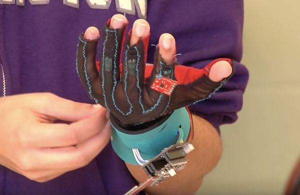 SignAloud, i guanti per non udenti