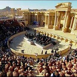 Concerto a Palmira, la vittoria dell'arte sulle barbarie dell'ISIS
