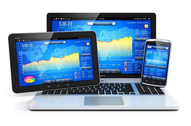 Piattaforma per il forex trading