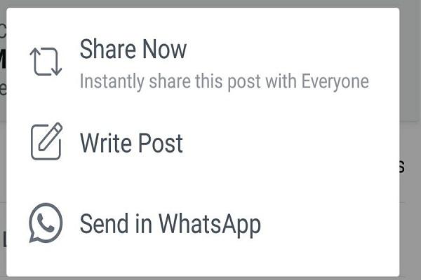 WhatsApp e Facebook, arriva la condivisione unificata